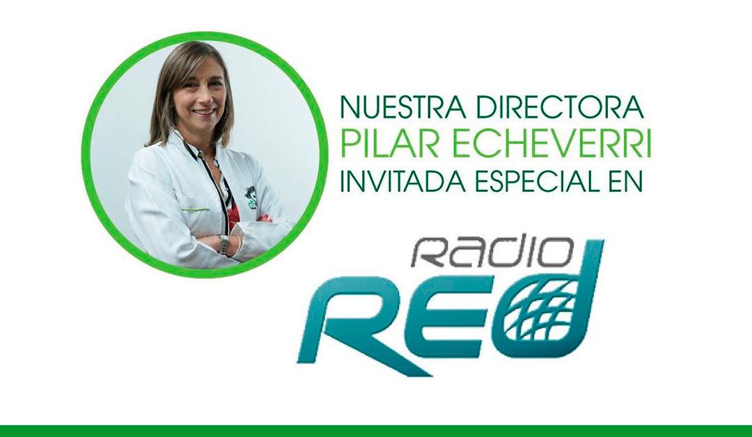 Directora Fisulab invitada en Radio Red