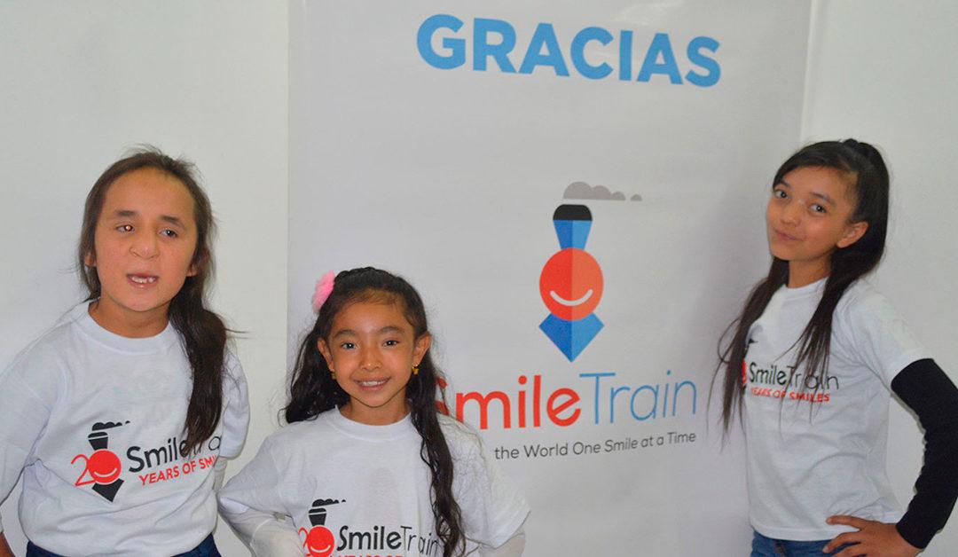 Smile Train, un Compromiso Sostenible con niños nacidos con fisuras