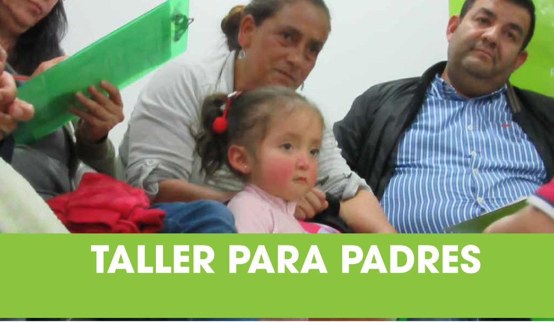 Taller Elijo ser Feliz para Padres y Pacientes